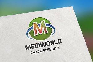 Mediworld (Letter M) Logo