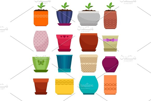 Flowerpot And Ethnic Simple Vase Collection