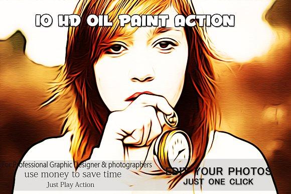 10 HD OIL PAINT ACTION