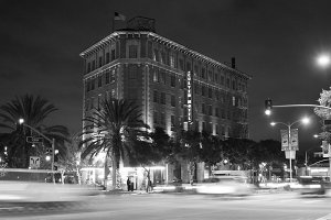 culver_hotel at night