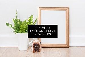 Bundle of 8 Styled 8x10 Art Prints
