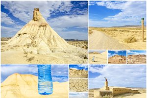 Desert of the Bardenas Reales in Nav
