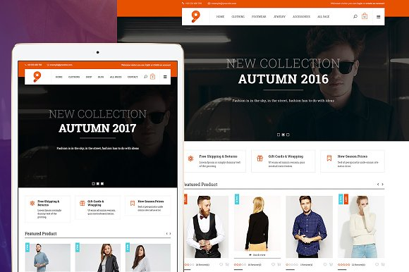 9 Fashion WooCommerce Theme