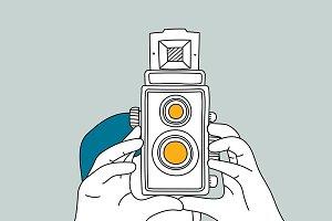 Analog film camera