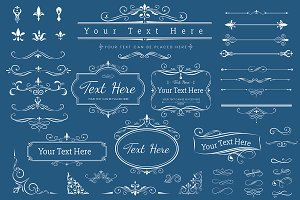 label ornament vector illustration