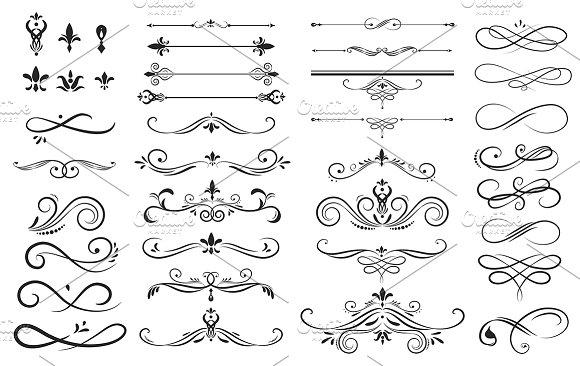 Label Ornament Vector Illustration