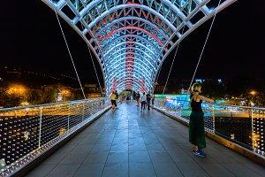 Night view of the Bridge
