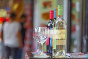 Bottle shop sells wines
