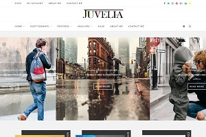 Juvelia -Multi Blogging WP Theme 1.1
