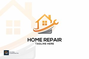 Home Repair - Logo Template