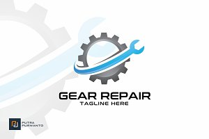 Gear Repair - Logo Template