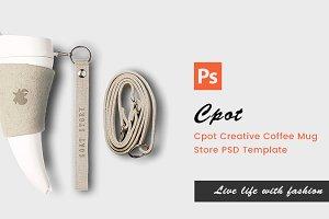 Cpot - Creative PSD Template