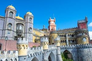 Pena National Palace in Sintra, Port