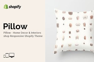 Pillow - Home Decor Shopify Theme