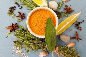 Fresh seasonings & spices