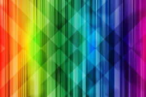Rainbow background colorful intersect pattern light