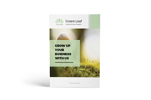 Green Leaf - Creative Brochure