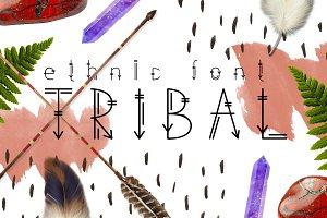 Tribal - Ethnic Font