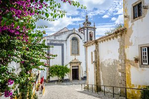 Church in Obidos, Portugal