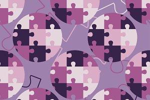 Puzzle texture.