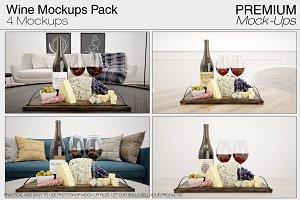 Wine Mockup Set