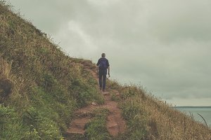 Hiking the Pembrokeshire coast