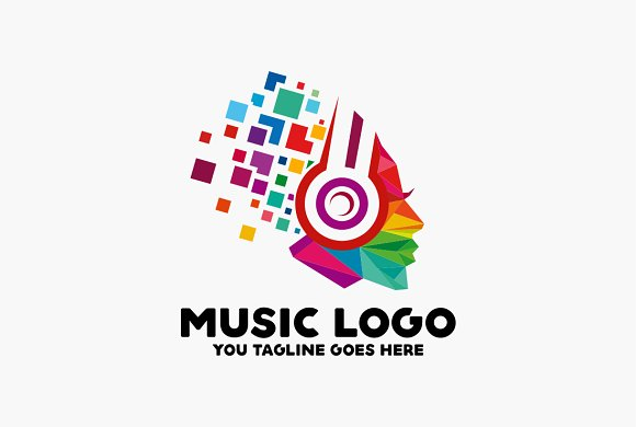 Music Logo Templates Creative Market