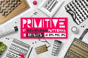 Primitive patterns collection