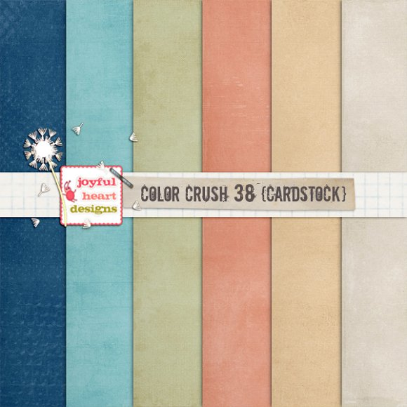 Color Crush 38 {shabby Cardstock}