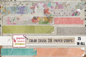 Color Crush 38 {paper strips}