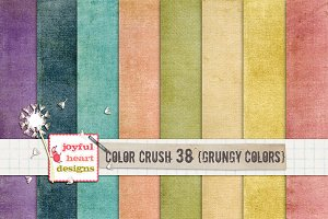 Color Crush 38 {grungy colors}