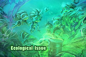 Underwater ecological issue