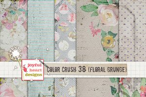 Color Crush 38 {floral grunge}