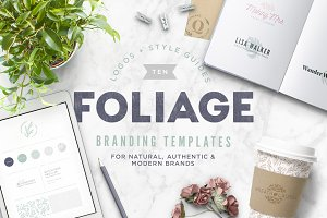 Foliage Branding Templates