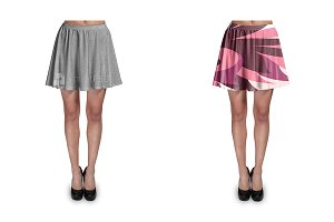 Mini Skirt Design Mockup