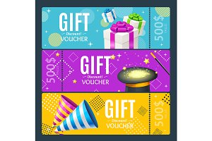 Gift Voucher Card Magic