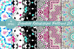 KALEIDOSCOPE seamless paper prints