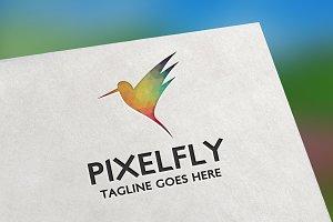 Pixel Fly Logo
