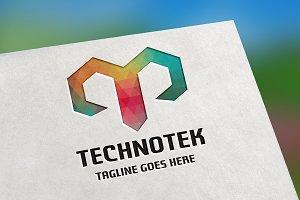 Technotek (Letter T) Logo