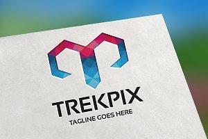 Trekpix (Letter T) Logo