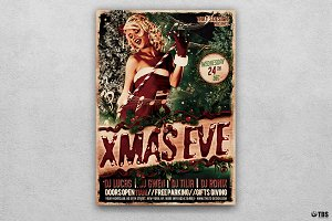 Christmas Eve Flyer Template V3
