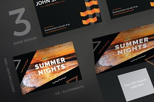 Business Cards | Summer Nights