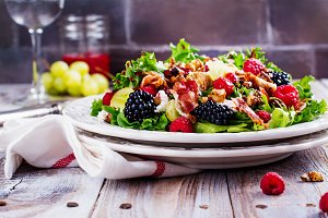 Delicious summer salad