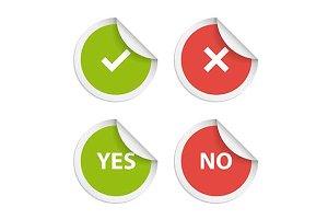 Vector stickers