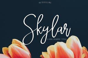 Skylar | Script Font