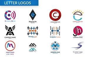 Bundle Letter Logos