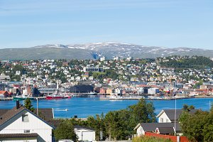 City of Tromso, Norway