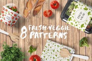Fresh veggie patterns