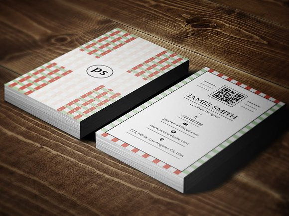Retrovintage Style Business Card V2 Business Card Templates