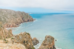 Foggy Coast of Cabo da Roca